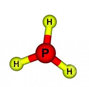 Phosphine molecular structure
